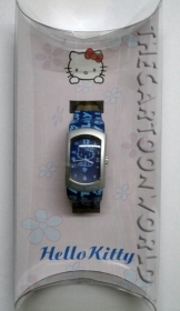 WRIST WATCH DISNEY SANRIO HELLO KITTY with leather strap