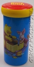 Glass with Screw closure DISNEY WINNIE THE POOH