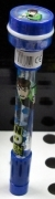 BALL point PEN WITH STAMP AND SOAP BUBBLES - DISNEY-BEN TEN - green