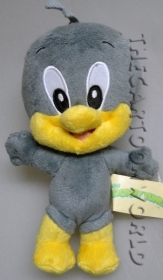 PELUCHE DISNEY - BABY LOONEY TUNES - DUFFY DUCK - 20 cm