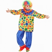DRESS COSTUME CARNIVAL Mask child CLOWN - Clown