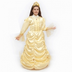 DRESS COSTUME CARNIVAL Mask girl - PRINCESS BELLE p