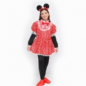 DRESS COSTUME CARNIVAL Mask girl - TOPOLETTA Mouse