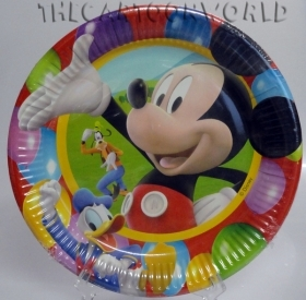 DECORATIONS, Birthday Party Plates, DISNEY MICKEY mouse 23cm