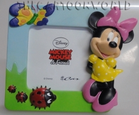 PHOTO picture FRAME Resin DISNEY MINNIE