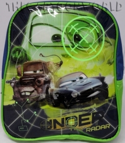 BACKPACK Rucksack Folder Kindergarten School DISNEY - CARS 2