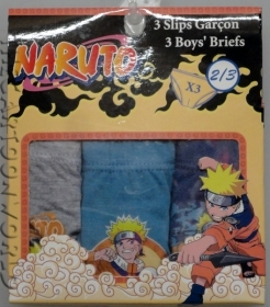 TRIS BRIEFS Panties DISNEY - NARUTO - 2-3 Years