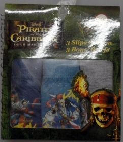 TRIS BRIEFS Panties DISNEY - PIRATES OF the CARIBBEAN - 6-8 Years