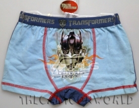 PARIGAMBA BOXER BRIEFS Panties DISNEY - TRANSFORMERS - 5-6 Years