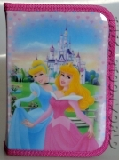 CASE SCHOOL 16 pieces - DISNEY PRINCESSES Cinderella and Aurora