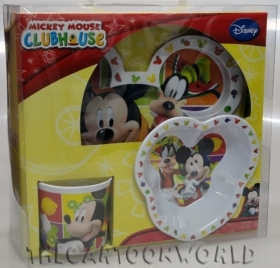 SET JELLY SHAPED Melanin - Dishes, Glass DISNEY MICKEY mouse