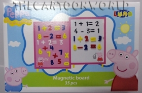 The MAGNETIC board DISNEY - PEPPA PIG - Numbers and chalk