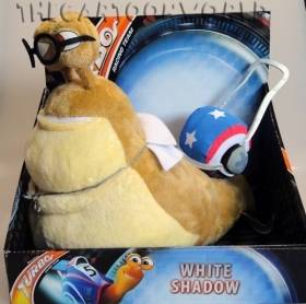 Plush DISNEY TURBO - WHITE SHADOW - 25x25 cm