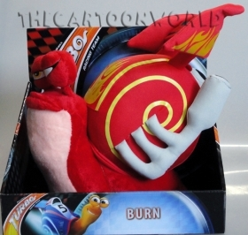 Plush DISNEY TURBO - BURN - 27x26 cm
