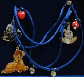 BRACELET Rope With pendant CHARM Disney BAMBI