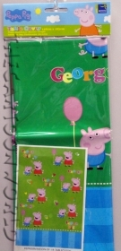 DECORATIONS, Birthday Party table CLOTH DISNEY PEPPA PIG