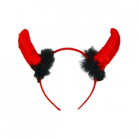 FRONTINO WITH HORNS OF THE DEVIL - COSTUMES - PARTY