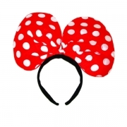 FRONTINO RED BOW - DISGUISE , PARTY , PARTIES THEME