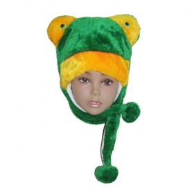 HAT Shaped 3D SOFT PLUSH toy - FROG