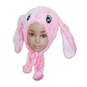 HAT Shaped 3D SOFT PLUSH toy - BUNNY