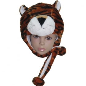 HAT Shaped 3D SOFT PLUSH - TIGER