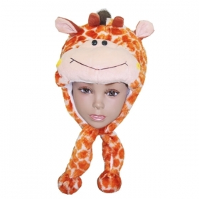 HAT Shaped 3D SOFT PLUSH toy - GIRAFFE