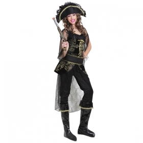 DRESS COSTUME Mask, CARNIVAL Adult PIRATE