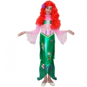 DRESS COSTUME CARNIVAL Mask girl - the little MERMAID