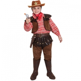DRESS COSTUME Mask CARNIVAL kid - SHERIFF