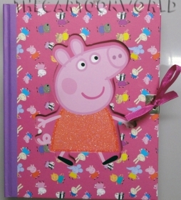 SECRET DIARY with Stickers DISNEY PEPPA PIG
