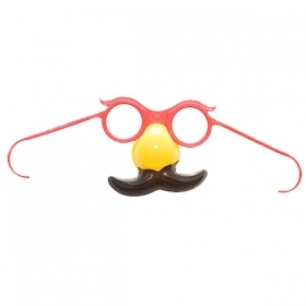 GLASSES CLOWN CLOWN - CARNIVAL , THEME PARTIES , PARTY AND NOT ONLY