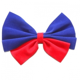 FANTASTIC BOW TIE CLOW CLOWN - CARNIVAL , THEME PARTIES AND NOT ONLY