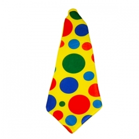 FANTASTIC TIE CLOWN CLOWN - CARNIVAL , THEME PARTY , PARTY AND NOT ONLY
