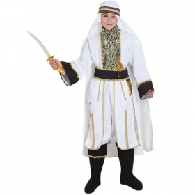 DRESS COSTUME CARNIVAL Mask child - PRINCE OF the DESERT
