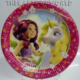DECORATIONS, Birthday Party Plates DISNEY MIA AND ME - 23 cm