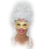 FANTASTIC MASK FOR Children and ADULTS - LADY - Turquoise, Gold, Fuchsia