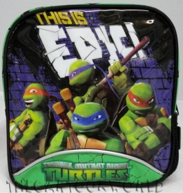 BACKPACK the Backpack Folder and School NINJA TURTLES
