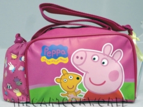 Handbag shoulder Strap picnic DISNEY - PEPPA PIG