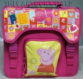 Folder, School and Leisure Time DISNEY - PEPPA PIG flowers