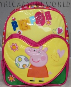 RUCKSACK Backpack School Nursery DISNEY Peppa Pig - the heart