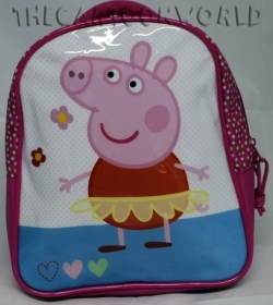 RUCKSACK Backpack School Nursery DISNEY Peppa Pig ballerina