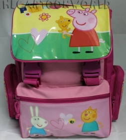 BACKPACK Folder Extensible School DISNEY Peppa Pig