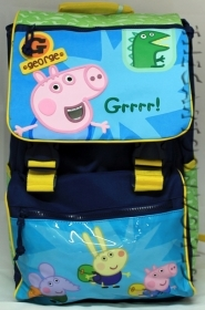 BACKPACK Folder Extensible School DISNEY PEPPA PIG - GEORGE PIG