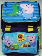 BACKPACK Folder Extensible School DISNEY PEPPA PIG - GEORGE PIG to
