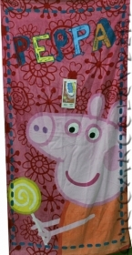 Beach TOWEL / swimming Pool DISNEY - PEPPA PIG 70 x 140 cm