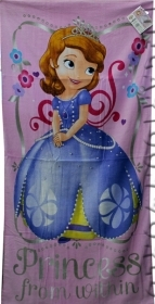 Beach TOWEL / swimming Pool DISNEY - PRINCESS SOFIA - 70x140 cm