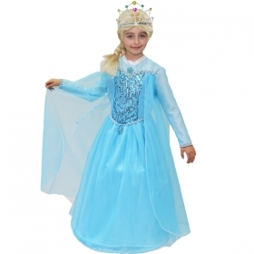 DRESS COSTUME CARNIVAL Mask - Princess ELSA - Frozen