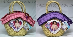 BAG Handbag in Straw - Disney - VIOLETTA