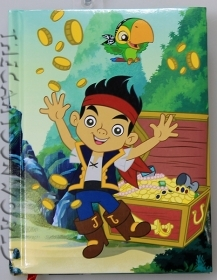DIARY CALENDAR SCHOOL DISNEY JAKE THE PIRATE - 12 Months