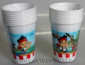 DECORATIONS Birthday Party GLASSES DISNEY JAKE THE PIRATE